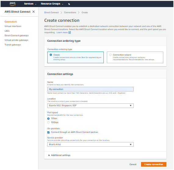 AWS DIRECT CONNECT-COMPATIBILITY AND REQUIREMENTS